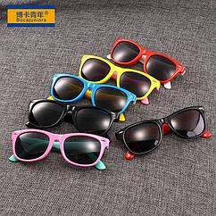 """Окуляри дитячі повсякденні сонцезахисні ТМ """"Bocajuniors"""" 802 (поляризація / захист від ультрафіолету UV400)"""
