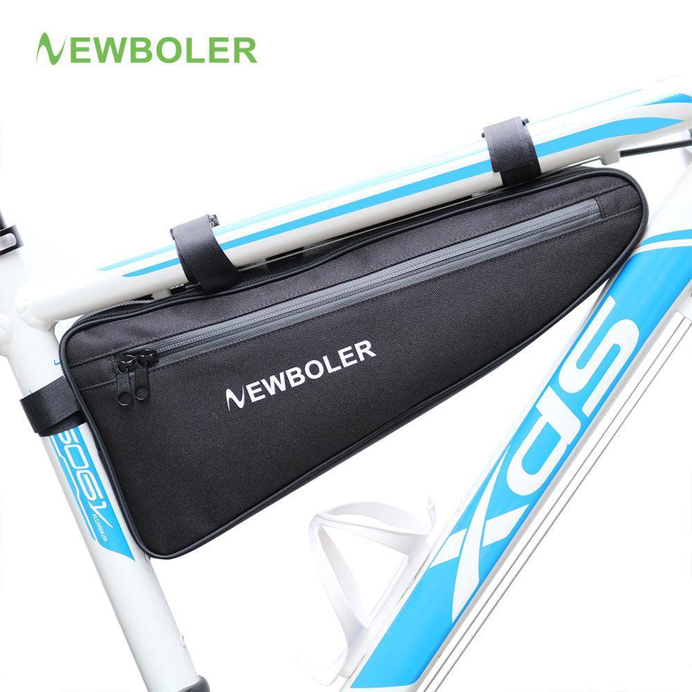 """Велосумка водоупорная грузовая """"bikepacking"""" подрамная """"треуголка"""" NEWBOLER BAG011 (V: 2 литра / L: 39 см)"""