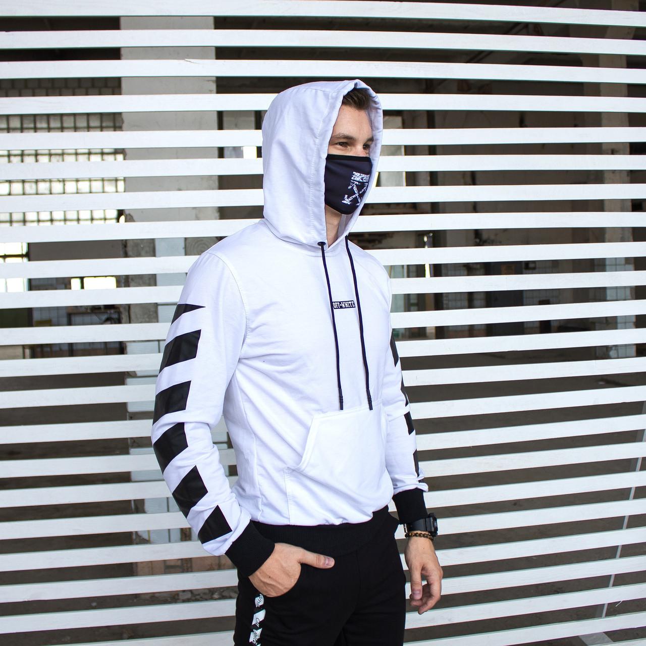 Мужской спортивный костюм Off White (демисезонный спорт. костюм)