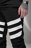 Спортивные штаны LC - Flip черно-белые, фото 3