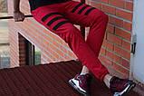 Спортивные штаны LC - Flip красный с черным, фото 2