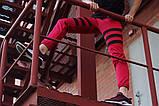 Спортивные штаны LC - Flip красный с черным, фото 3