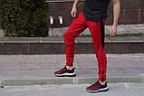 Спортивные штаны LC - Jet красно-черные, фото 3