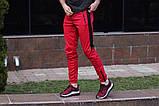 Спортивні штани LC - Jet червоно-чорні, фото 4
