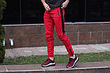 Спортивные штаны LC - Jet красно-черные, фото 4
