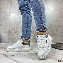 Кроссовки белые фирменные, фото 3