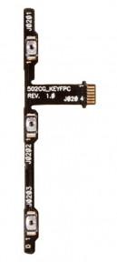 Шлейф Asus ZenFone 5 Lite (A502CG) с кнопкой включения и кнопками громкости