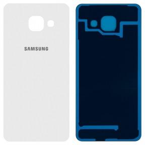 Задняя крышка Samsung A310 Galaxy A3 (2016), A310F, A310M, A310N белая