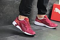 Мужские кроссовки Puma Trinomic бордовые