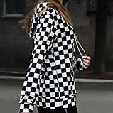 "Худи с принтом женский ""Chess"", фото 5"