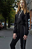 Костюм (худі з принтом і штани) жіночий, фото 4