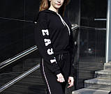 Костюм (худі з принтом і штани) жіночий, фото 5