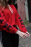Костюм (худи с принтом и штаны) женский, фото 3