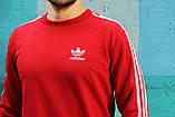 Спортивний костюм в стилі Adidas Round червоний!, фото 3