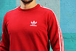 Спортивный костюм в стиле Adidas Round красный!, фото 3