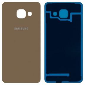 Задняя крышка Samsung A310 Galaxy A3 (2016), A310F, A310M, A310N золотая