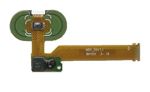 Шлейф Meizu MX5 с кнопкой Home белый, фото 2