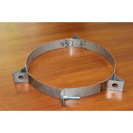 Фабрика ZIG Кольцо для дымохода нержавейка D-220 мм толщина 0,6 мм, фото 2