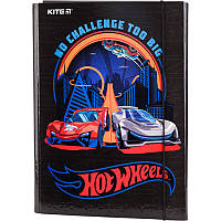 Папка для школы картонная Kite Hot Wheels HW19-213, А4