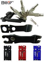 Набор инструмента/мультитул вело/велосипедный компактный 21-в-1 BOY 8060 с выжимкой цепи
