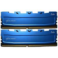 Оперативна память Exceleram 16 GB (2x8GB) DDR4 2400 MHz (EKBLUE4162417AD)