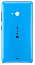 Задняя крышка Microsoft (Nokia) Lumia 540 Dual Sim (RM-1141) голубая