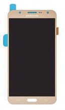 Дисплейный модуль для Samsung Galaxy J7 J700F, J700H, J700M золотой (GH97-17670B) Оригинал