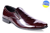 Мужские туфли классика mida 11212шок весенние , фото 1