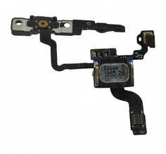 Шлейф Apple iPhone 4 с кнопкой включения, датчиком приближения и микрофоном
