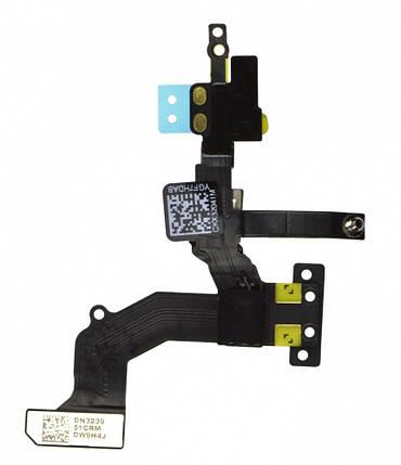 Шлейф Apple iPhone 5 с датчиком освещенности, датчиком приближения и фронтальной камерой, фото 2