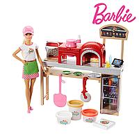 Кукла Барби шеф-повар Barbie Cooking & Baking Pizza FHR09
