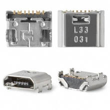 Разъем зарядки (коннектор) Samsung G360F, G360H, G361, G361H, I8550, I8552, I9082, T110, T111, T113, T115, T116, T560, T561, T580, T585 (micro USB)