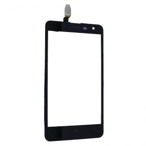 Сенсор (тачскрин) Nokia Lumia 625 черный Оригинал Китай