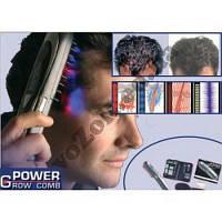 Лазерная массажная расческа Power Grow Comb с тройным эффектом для укрепления волос, фото 1