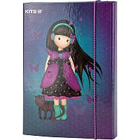 Папка для тетрадей B5, на резинках, картон, Kite, Charming k20-210-01, KITE канцелярия