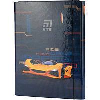 Папка для трудового обучения, А4 Kite, Fast Cars k20-213-02, KITE канцелярия