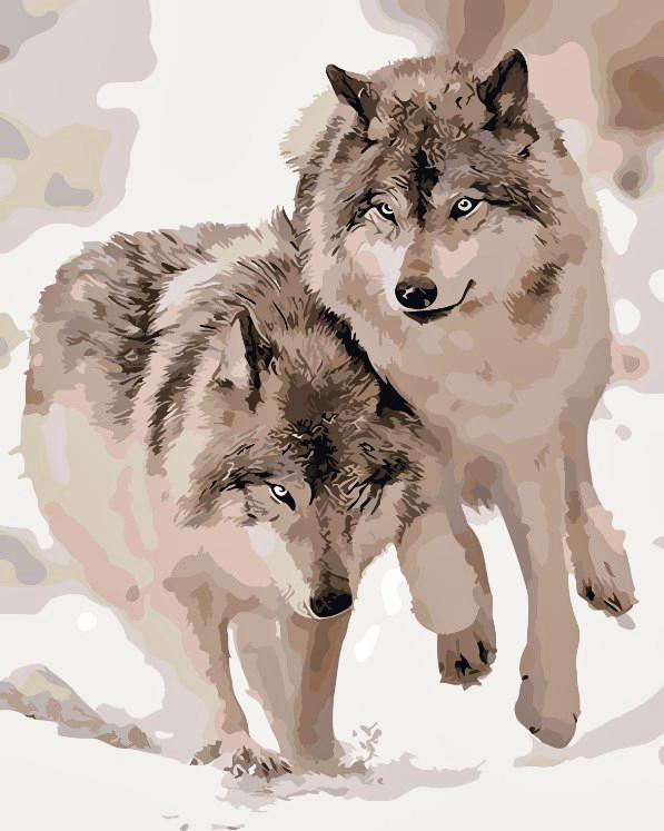 Художественный творческий набор, картина по номерам Хищники, 40x50 см, «Art Story» (AS0062)