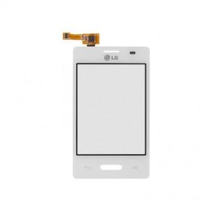 Сенсор (тачскрин) LG E425 Optimus L3 2 белый