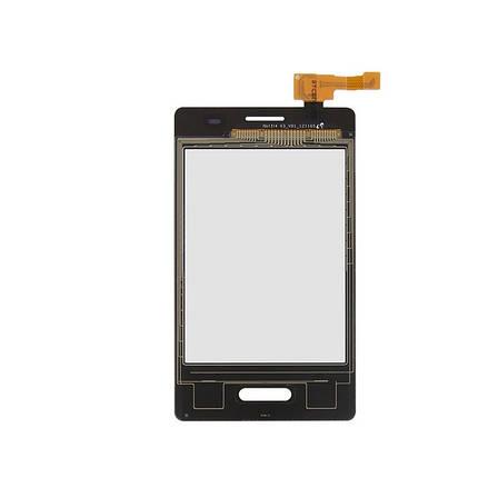 Сенсор (тачскрин) LG E425 Optimus L3 2 белый, фото 2