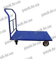 Ручний платформовий візок зі зварною ручкою РПТ(З)-013-200 М, фото 1