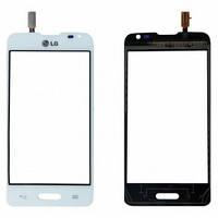 Сенсор (тачскрин) LG D405 Optimus L90, D415 Optimus L90 белый Оригинал Китай