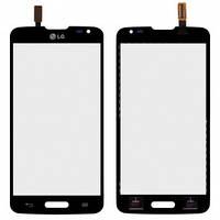 Сенсор (тачскрин) LG D405 Optimus L90, D415 Optimus L90 черный