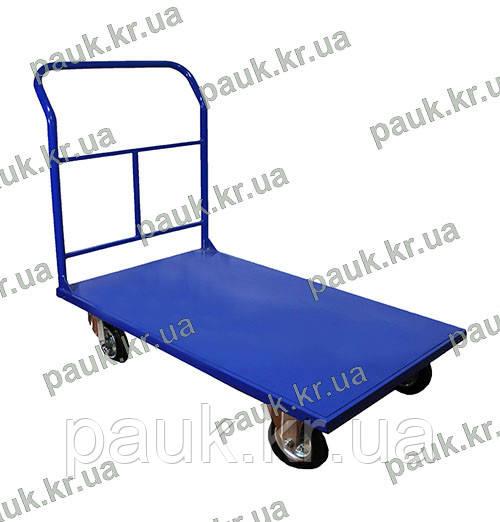 Візок платформний 800Х1250 мм зі зварним бортом РПТ(З)-011-200 М
