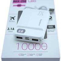Power Bank Внешний аккумулятор 10000мАч 2xUSB ЖК-дисплей Reddax RDX-250
