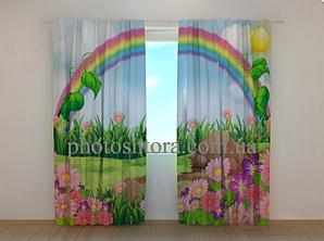 """Фото шторы """"Радуга над поляной"""" 250 х 260 см"""