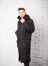 """Чоловіче пальто Pobedov jacket """"Tank"""" Black"""
