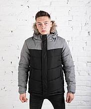 Куртка Pobedov Winter Jacket BLACK-GREY