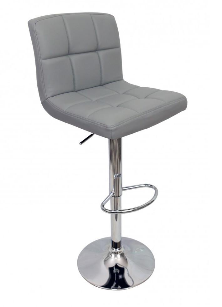 Барный стул Hoker Bonro 628. Цвет серый.