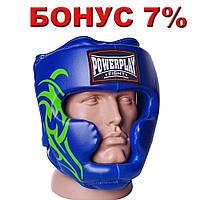 Боксерський шолом тренувальний 3043 Синій L Шлем боксерский R144191