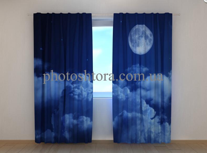 "Фото шторы ""Луна"" 250 х 260 см"
